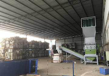 Heavy Duty Crusher Recycling Line