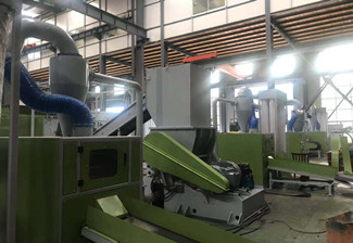 Scrap cable wire recycling production line ship to Algeria