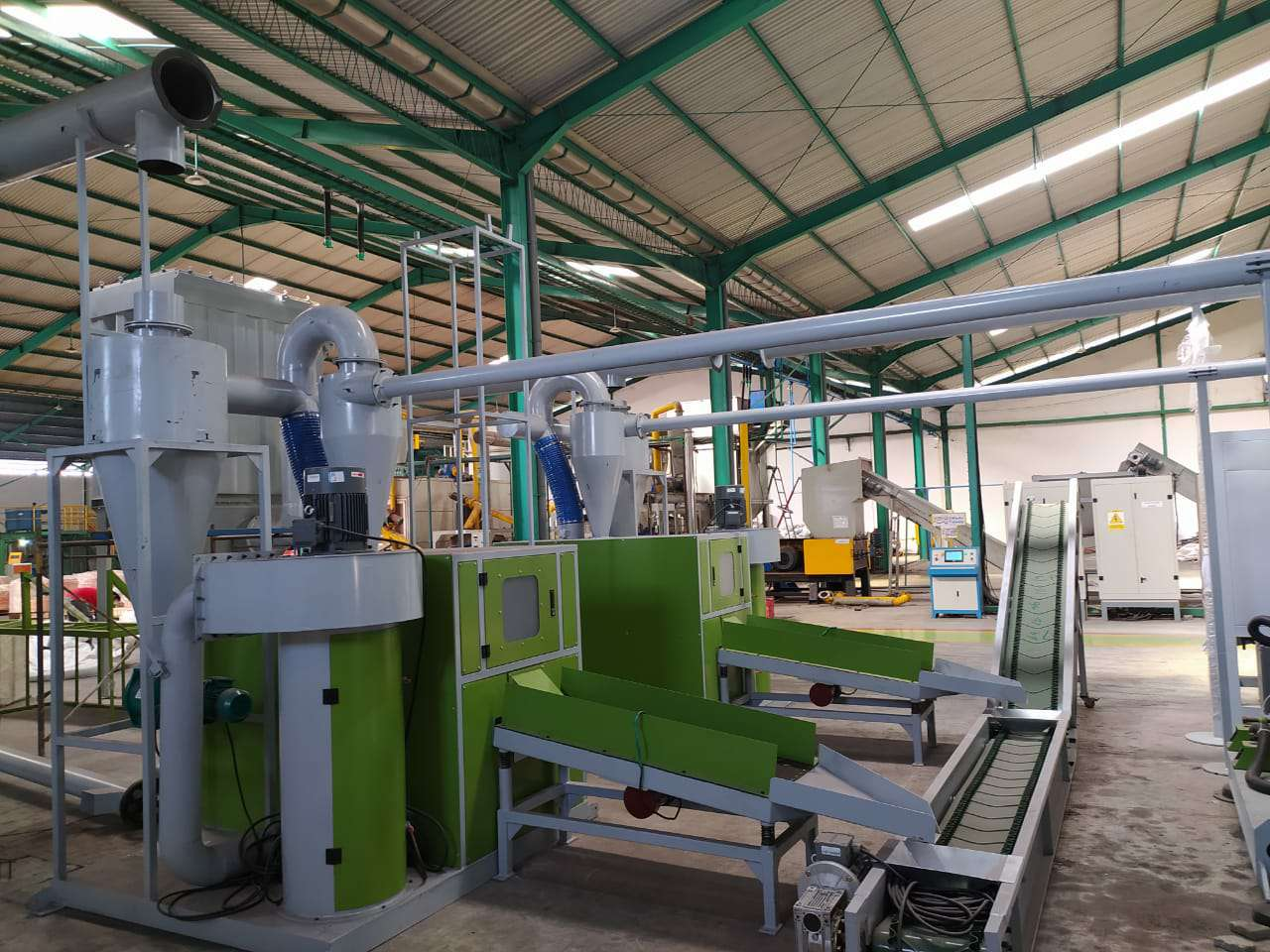 1000kg Cable Wire Recycling Machine